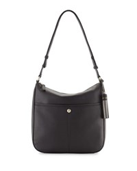 Cole Haan Tilly Large Leather Crossbody Bag Black