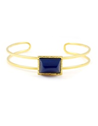 Gerard Yosca Mesa Ten Resin And 18K Gold Cuff Bracelet