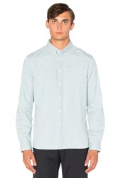 Saturdays Surf Nyc Crosby Denim Button Down Blue