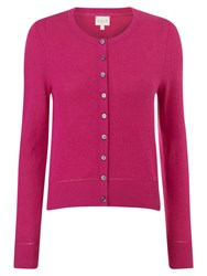 East Cropped Cardigan Pink