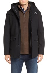 Cole Haan Men's Hooded Waterproof Parka