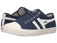 Gola Coaster Navy Off White Men's Lace Up Casual Shoes Black