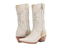Lucchese Golden Arrow White Cowboy Boots