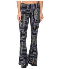 Prana Juniper Pant Bluebell Fossil Women's Casual Pants Black