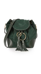 See By Chloe Polly Small Bucket Bag Dark Forest