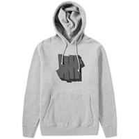 Undefeated Shadowed Strike Pullover Hoody Grey