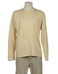 Master Coat Long Sleeve T Shirts Beige