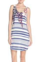 Women's Charlie Jade Placed Print Silk Tank Dress
