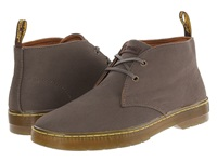 Dr. Martens Mayport 2 Eye Desert Boot Olive Overdyed Twill Canvas Men's Lace Up Boots Brown