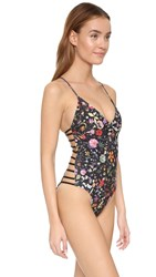 L Space Liberty Love Wild Side One Piece Black