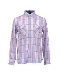 Arnold Zimberg Long Sleeve Shirts Lilac