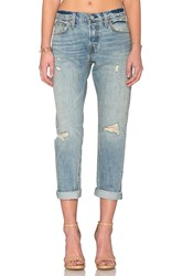 Levi's Distressed Boyfriend Blue Avenue