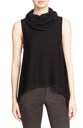 Alice Olivia Women's 'Sharry' Cowl Neck Sleeveless Wool And Cashmere Pullover