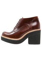 Kmb Satur Ankle Boots Moka Brown