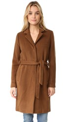 Just Female Levy Coat Dark Brown