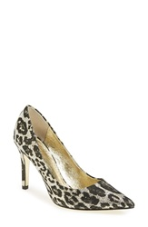 Adrianna Papell Pointy Toe Pump Women Gold Metallic