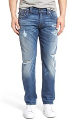 True Religion Geno Relaxed Slim Fit Jean Blue