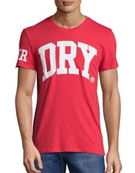 Superdry Dry Graphic Tee Red