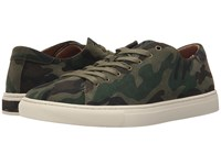 Polo Ralph Lauren Jermain Olive Camo Sport Suede Men's Lace Up Casual Shoes Green