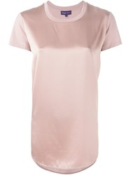 Ralph Lauren Panelled Blouse Pink And Purple