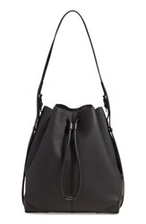 Alexander Wang 'Matte Prisma' Pebbled Leather Drawstring Hobo