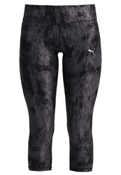 Puma All Eyes On Me Tights Black Periscope