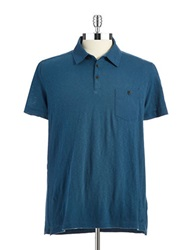 Kenneth Cole Pocket Polo Shirt Lakeside