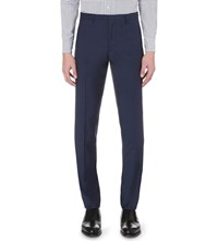 J. Lindeberg Paulie Dressed Wool Trousers Blueberry