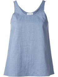 Forte Forte Classic Tank Top Blue