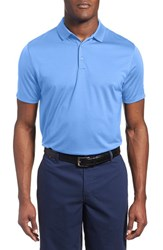 Men's Nike 'Victory Dri Fit Golf Polo University Blue White