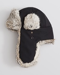 The Men's Store At Bloomingdale's Ultratech Fur Lined Bomber Hat Black
