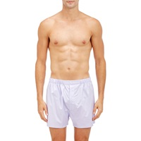 Barneys New York Checked Boxers White
