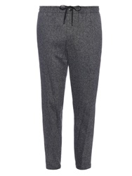 Cropped Articulated Knee Trousers