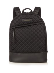 Want Les Essentiels Kastrup Diamond Quilted Nylon Backpack Black