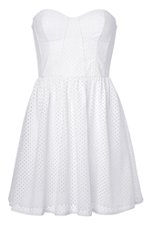 Juicy Couture Eyelet Bustier Dress
