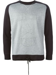 Iceberg Embossed Logo Sweatshirt Grey