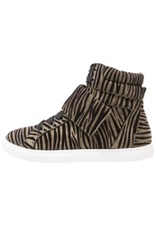 Just Cavalli Hightop Trainers Agave Oliv