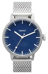 Men's Tsovet Svt Sc38 Mesh Strap Watch 38Mm