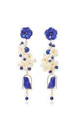 Of Rare Origin Lapis Nesters Earring Royal Blue