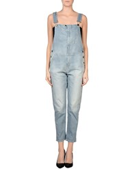 Truenyc. Dungarees Trouser Dungarees Women Blue