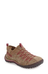 Jambu Women's 'Spirit' Sneaker Sangria Faux Leather