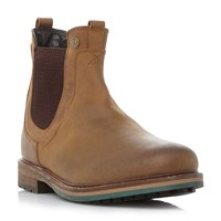 Barbour Cullercoats Heavy Chelsea Boots Tan