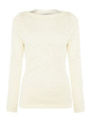 Part Two Pullover In A Comfortable Cotton Blend Cream