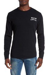 Brixton Men's 'Woodburn' Waffle Knit Thermal T Shirt