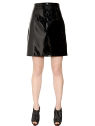 Christopher Kane Patent Leather Mini Black