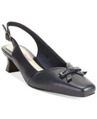 Easy Street Shoes Easy Street Incredible Pumps Women's Shoes New Navy