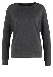 Zalando Essentials Sweatshirt Dark Grey Melange Mottled Dark Grey
