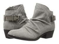 Blowfish Seastie Steel Grey Rancher Canvas Steel Grey Dyecut Women's Boots Gray