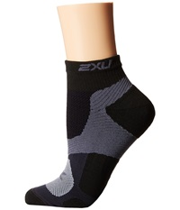 2Xu Training Vectr Sock Black Black Women's Crew Cut Socks Shoes