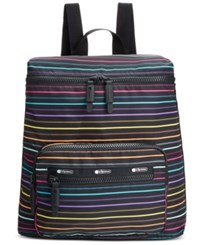 Le Sport Sac Lesportsac Portable Backpack Lestripe Travel